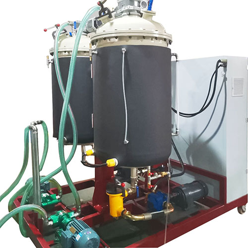 polyurethane injection machine